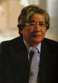 増田通二氏。1983年専務時代。