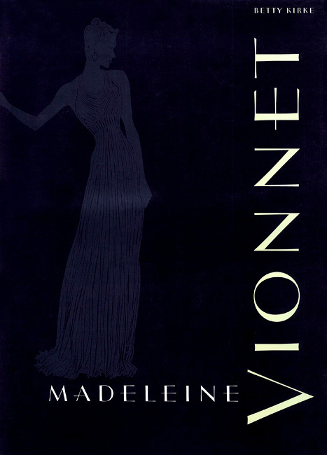 Vionnet — ヴィオネ 英語版 (1998・Chronicle Books)